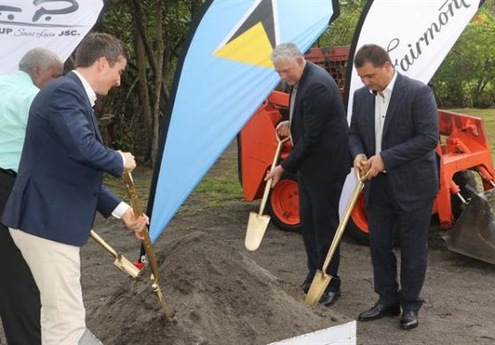 Dignitaries attend Fairmont sod turning