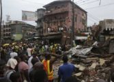 At least 5 dead in building collapse in Nigeria's Lagos