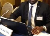 Moses Jn Baptiste attends food and security meeting