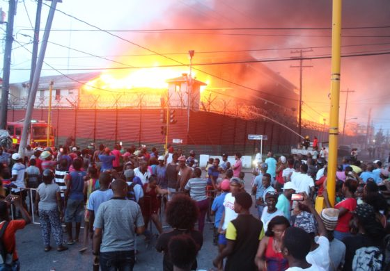 Inmates set fire to Guyana's main prison; several injured