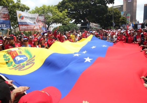 Grand closure of campaign in support of the Constituent Assembly in Venezuela