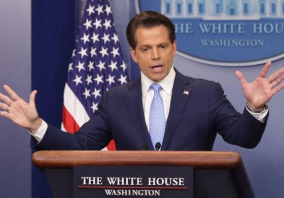 Scaramucci out as Trump media chief