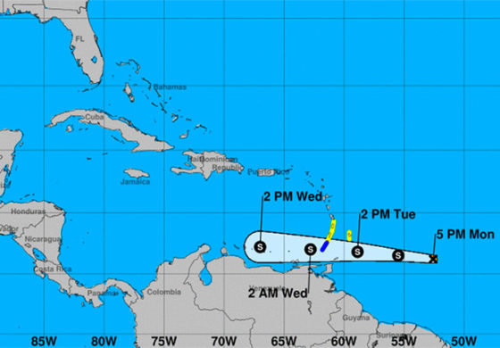 BREAKING: St. Lucia under tropical storm watch as Tropical storm Don forms (NHC)