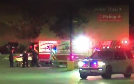 Eight found dead in truck in Walmart car park
