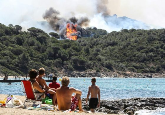 10,000 flee as wildfires rage in southeast France