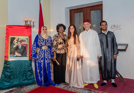 Celebration of the 18th Anniversary of the Enthronement of His Majesty Mohammed VI, King of Morocco Castries