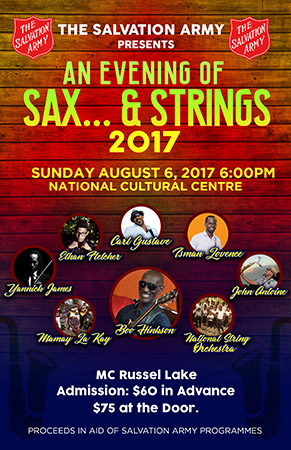 An Evening Of Sax & Strings Poster