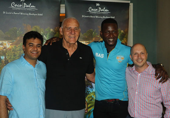 Coco Palm Welcomes CPLT20 with Stars & Knight Riders