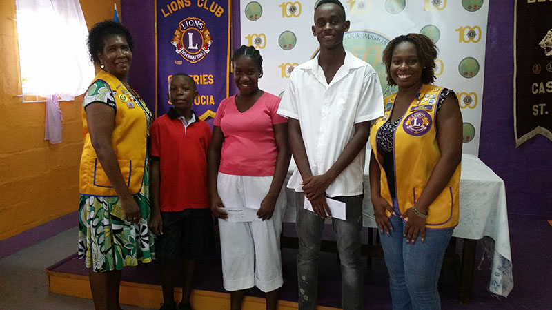 Bursaries presented to three students