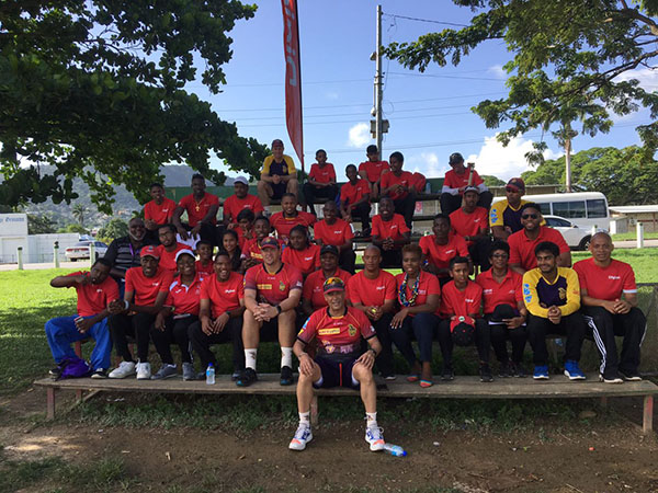 Digicel launched the second phase of its Digicel CPL Youth Programme which saw 25 representatives of the Special Olympic Trinidad and Tobago team spending a day with and learning from the coaches and players of the Trinbago Knight Riders