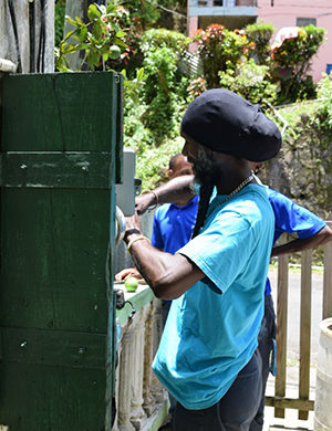 "Flow undertakes ""Flow in the Community"" fault resolution initiative in Soufriere"