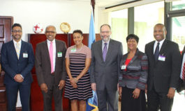 Caribbean Association of Banks discusses Regional Financial Industry issues with CARICOM and Central Bank of Guyana