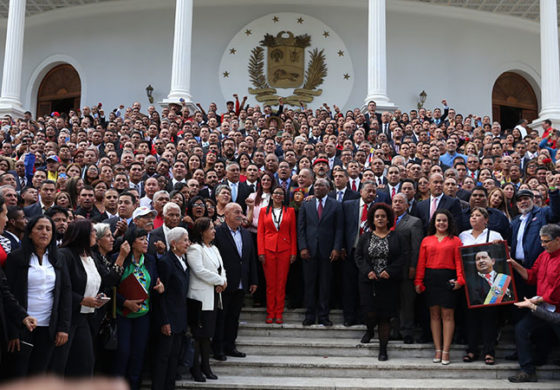 Order Restored in Venezuela with Constituent Assembly