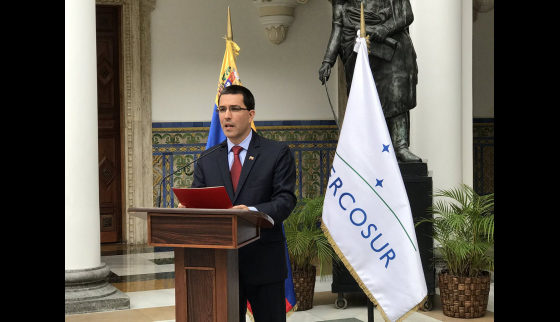 Procedure to suspend Venezuela from Mercosur is illegal