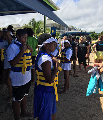 St. Lucia Stars Serving the Community