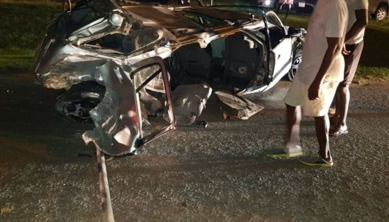 Antigua: One dead, eight injured in accident