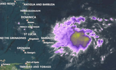 Tropical storm warning in effect for Saint Lucia