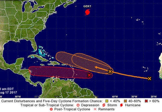 Tropical depression may form later today as bad weather approaches islands