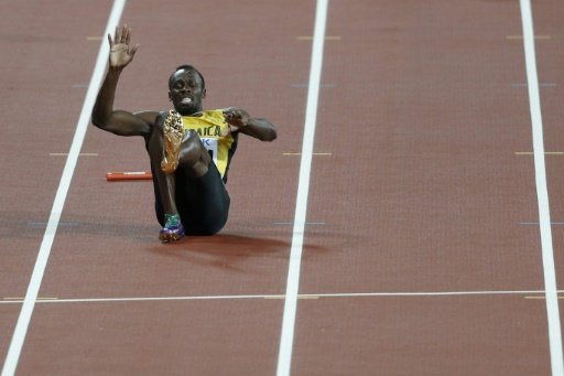 Sad farewell for injured Bolt