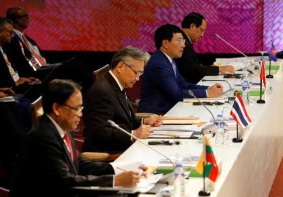 Southeast Asian nations feud over China