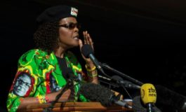 Zimbabwe's first lady in alleged assault