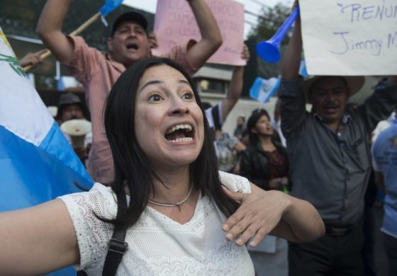 Guatemala's president plunges into constitutional crisis