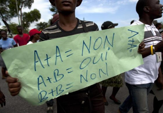 Haiti may ban gay marriage, public support for LGBTQ