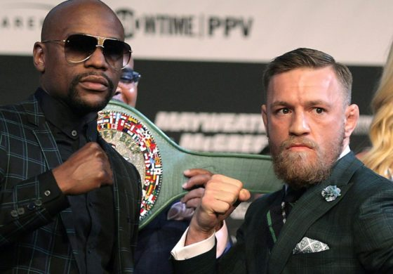 Hype meets reality as Mayweather, McGregor face off in Las Vegas