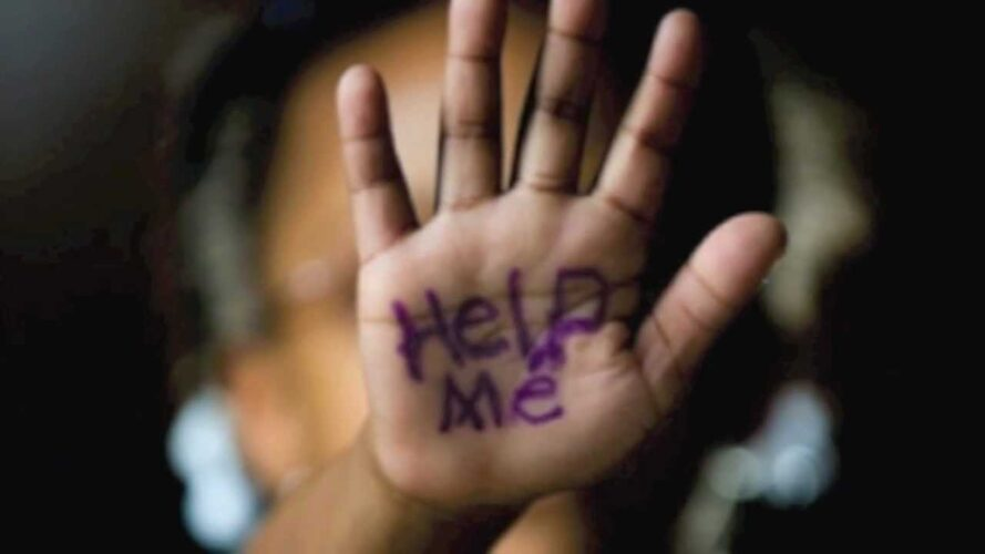 sexual-abuse (help me) hand