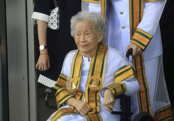 91-year-old Thai woman earns bachelor's degree