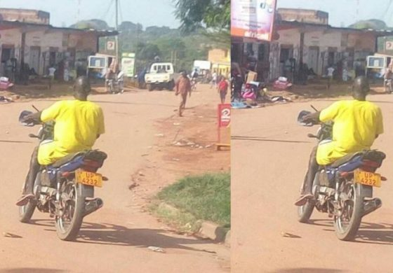 Uganda: Prisoner spotted riding police motorcycle