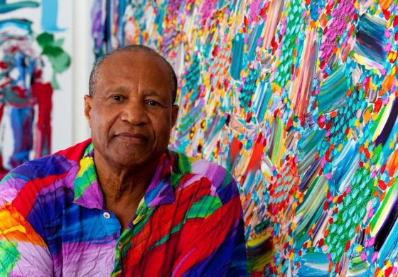 Llewellyn Xavier thrills the art scene in Martinique