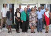 Saint Lucia's Minister of Health visits CARPHA Office