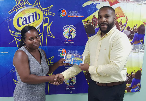 Lucky Carib Beer Winner Off to CPL Finals