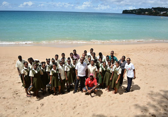 Sandals Foundation's Clean Sweep at ICC 2017