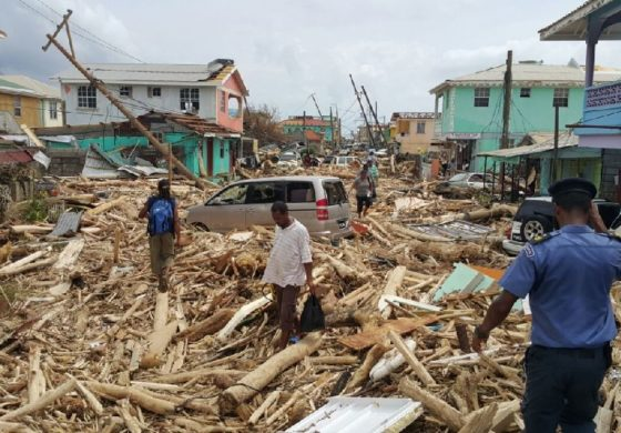 Tiny Dominica calls for help after Hurricane Maria