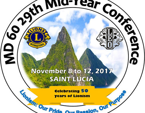Lions and Leos of Zone 3B Host Multiple District 60, 29th Mid-Year Conference