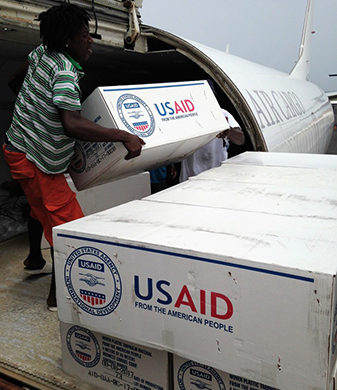 USAID Airlifts critical relief items for Caribbean Hurricane Response