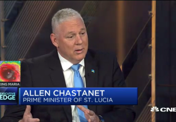 Prime Minister Chastanet proposes new US-Caribbean trade initiative