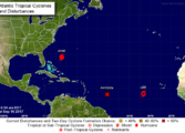 Tropical Storm Watch issued for St Lucia