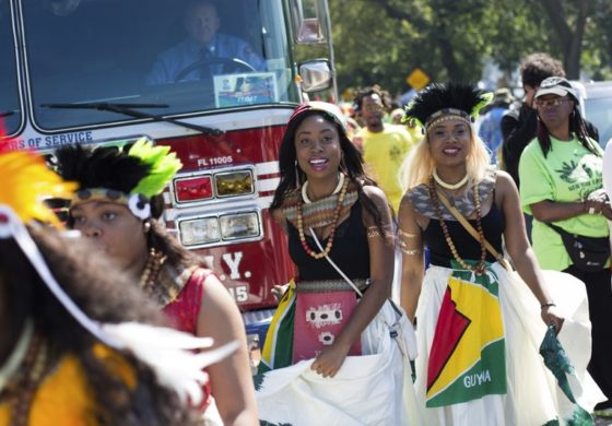 NY Caribbean fest revels amid security; some violence nearby