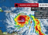 Potentially catastrophic category 5 Hurricane Maria eyes Dominica
