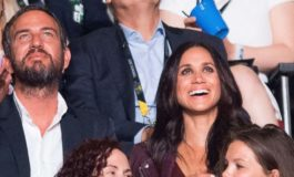 Meghan Markle appears at Prince Harry's Invictus Games