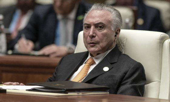 Brazil's President charged with leading 'criminal organisation'