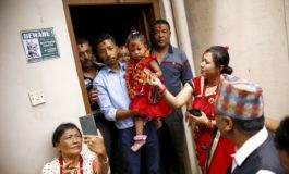 3-year-old girl becomes Nepal's new living goddess