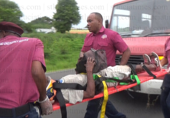Senior citizen, fireman among injured in accidents