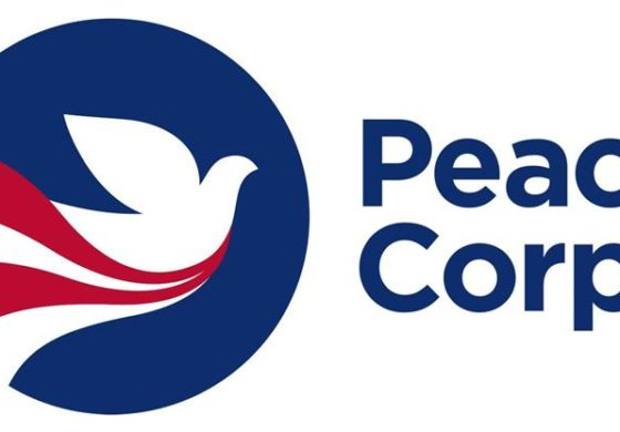 Peace corps volunteers sworn in