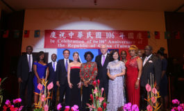 The Embassy of the Republic of China (Taiwan) Celebrated 106th National Day