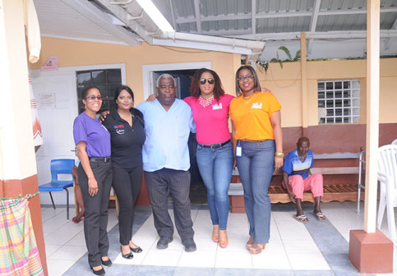 Courts St Lucia and Lensyl Donate