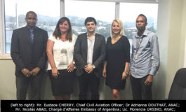 """Bilateral Cooperation – Experts from Argentina visit Saint Lucia"""